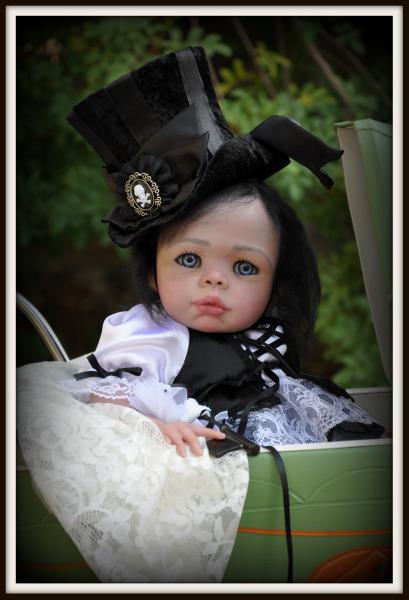 Lacey Michelle Victorian Gothic Glam Reborn Baby