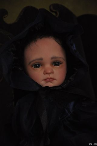 lacey michelle gothic reborn baby doll