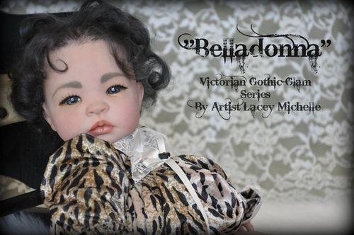 Gothic Reborn Baby Lacey Michelle
