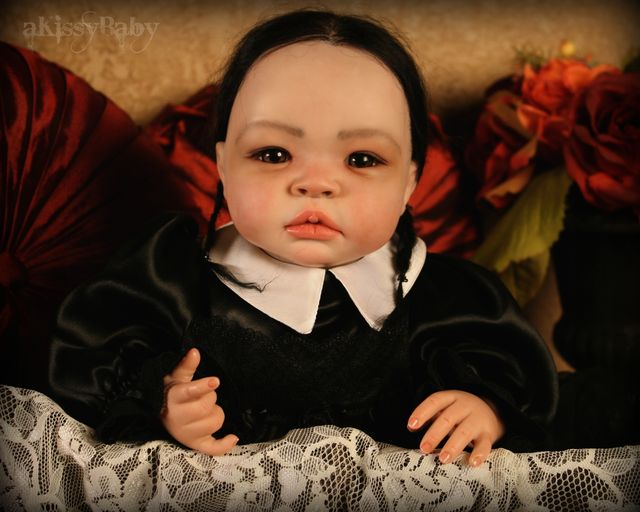 Wednesday Addams Baby Portrayal